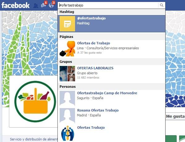 Facebook también sirve para buscar trabajo