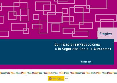 Guía bonificaciones/reducciones ssss del SEPE para Autonomos