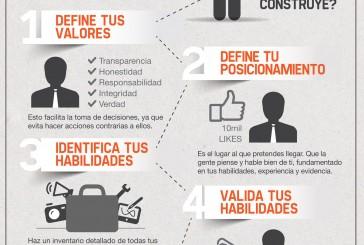 Como construir marca personal en cinco pasos