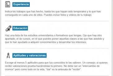 Anatomía de un perfil de linkedin Vía websa100.com