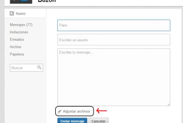 Linkedin ya permite adjuntar archivos en los mensajes