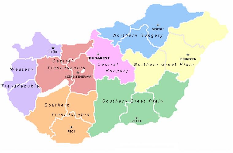 RegionsHungary
