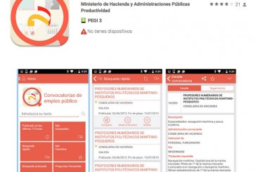 Muy buena app de empleo público vía Ministerio de Hacienda
