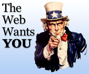 The Web Wants YOU by Widjaya Ivan
