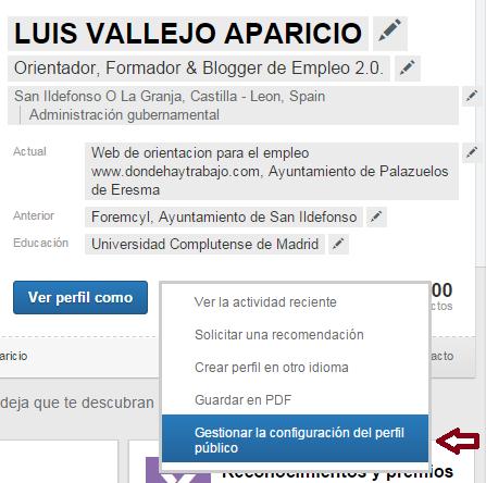 perfil publico linkedin