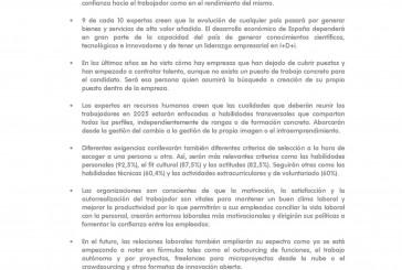 """""""Informe Adecco sobre el futuro del trabajo en España"""""""