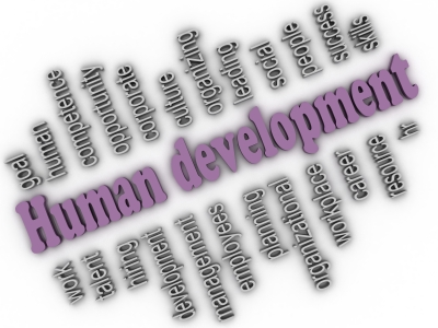 """3d Imagen Human Development Concept Word Cloud Background"" by David Castillo Dominici"