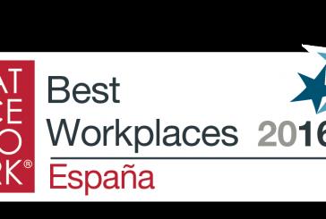 Ranking 2016 de las mejores empresas para trabajar en España (desde las Pymes a las empresas de + de 1000 trabajadores)