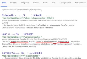 Tús búsquedas en LinkedIn multiplicadas usando google