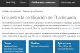 Obtén certificaciones y cursos IT de Microsoft