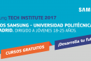 CURSOS GRATUITOS UPM-SAMSUNG 2017