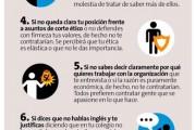 10 errores que hacen que no te contraten