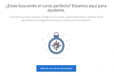 Coursera: aprendizaje online guiado y adaptado a tus intereses
