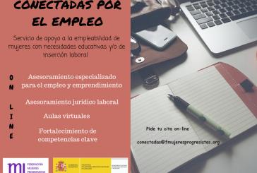 """""""Conectadas por el empleo"""", nuevo programa de orientación laboral para mujeres"""