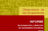 Estudio del mercado de trabajo nacional y detección de necesidades formativas por ocupación