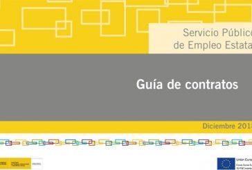 Guía de Contratos, edita el SEPE